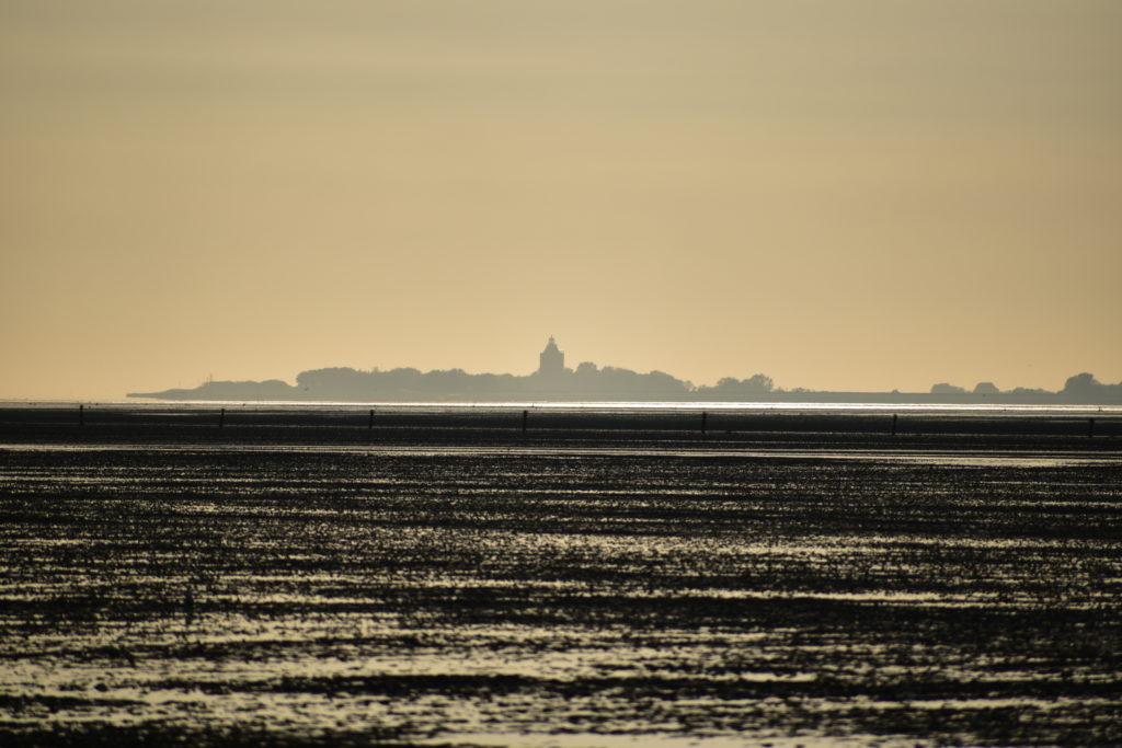 Insel Neuwerk 10 km von Cuxhaven  entfernt