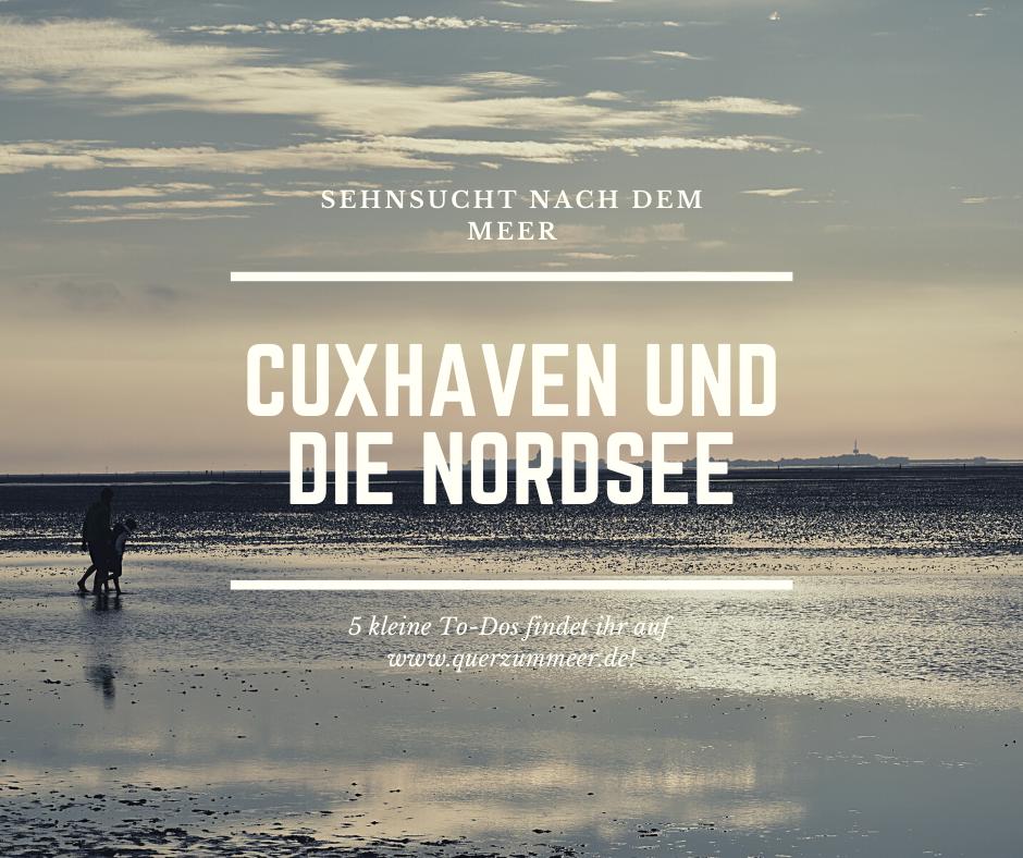 Über Rastede/Oldenburg, der Nordsee und Cuxhaven
