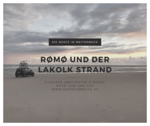 Rømø/Lakolk Strand im Nationalpark Wattenmeer