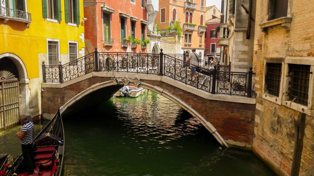 Venedig Übergangsbrücken