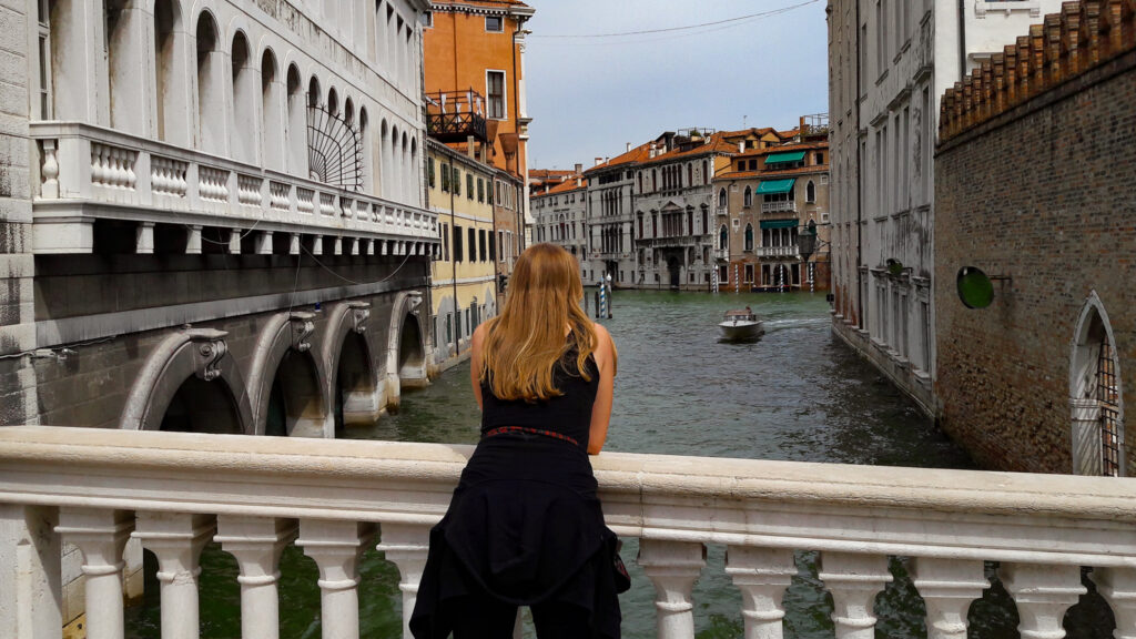 Venedig Wasserstraße