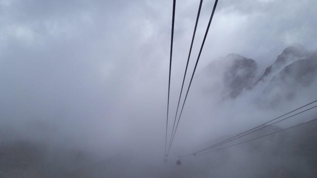 dichte Nebelbank