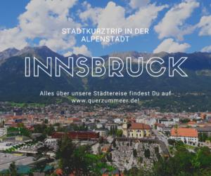 Stadtkurztrip durch die Olympiastadt Innsbruck