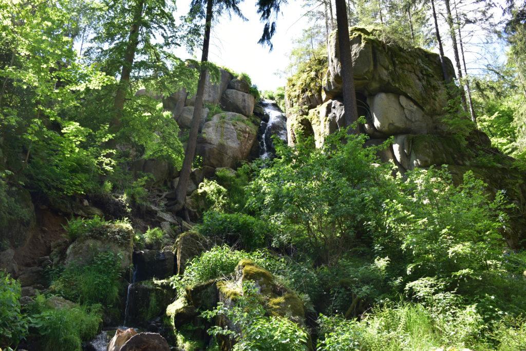 Wasserfall Das Wilde Erzgebirge