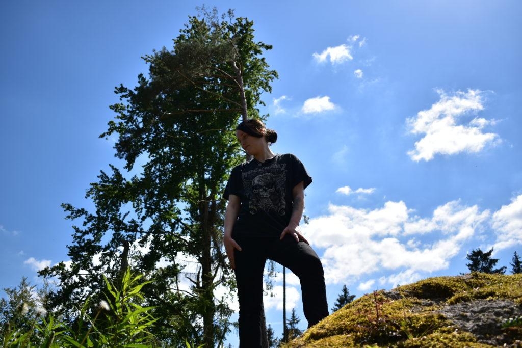 wildes klettern wildes Erzgebirge
