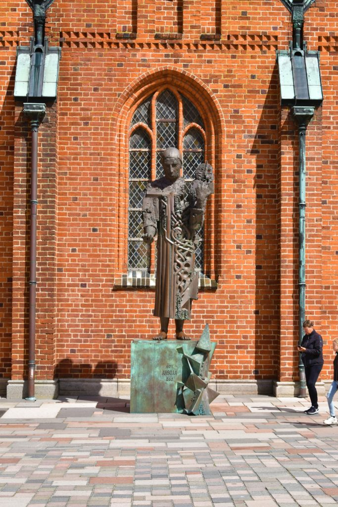 Domkirke statue Ribe