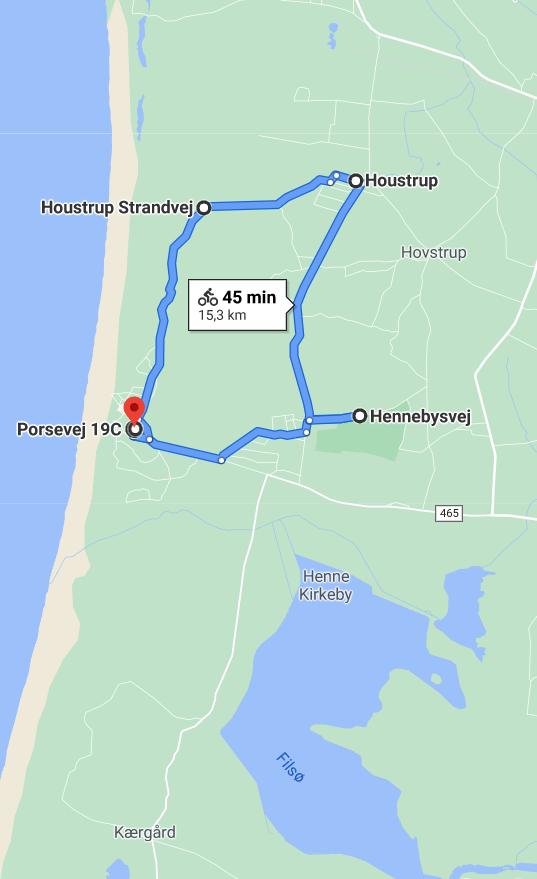 fahrrad route