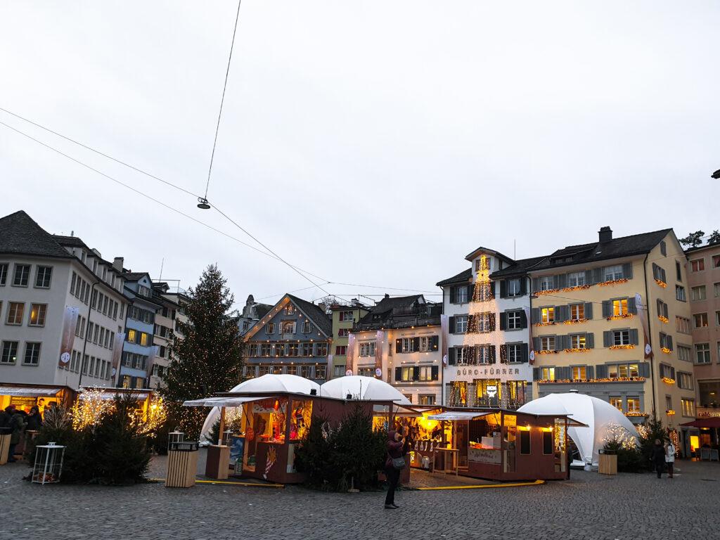 Züricher Weihnachtsmarkt
