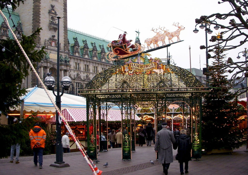 Hamburg Weihnachtsmarkt