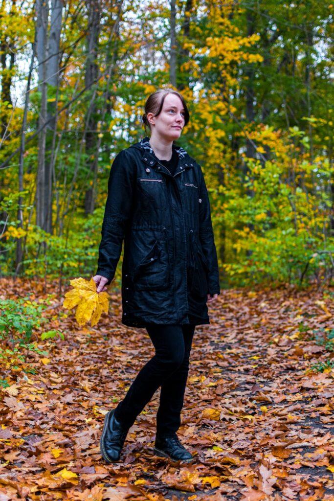 Herbstliches Fotoshooting