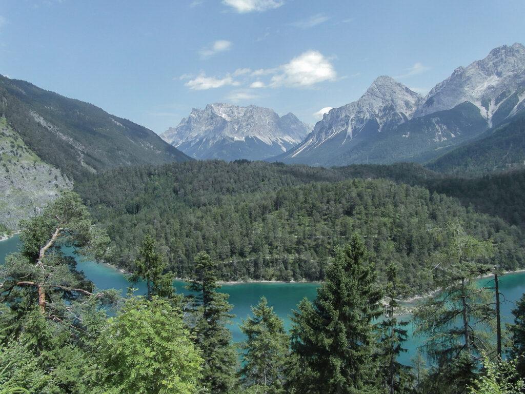 Zugspitze und Blindsee